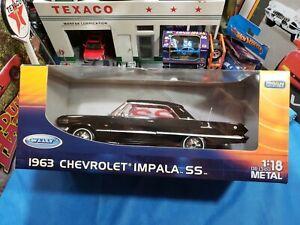 Vintage welly 1963 Impala CHEVROLET S/S 2 DOOR hardtop   HARD TO FIND NICE CAR