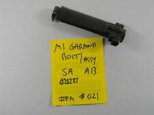"US GI M1 GARAND ""SA A13"" BOLT ASSY. MARKED 6528287 ITEM #021"