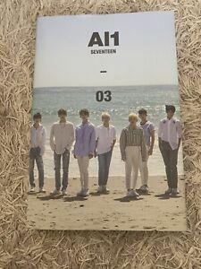 Seventeen Al1 Kpop K Pop Album