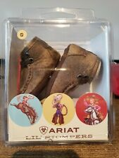 Ariat Infant Chucka Boots Boys / Girls Memphis Size 0 Brown A442000691-00 NIB