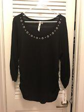 NY Large Black Sweater