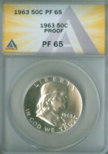 1963 Franklin Half Dollar Proof ANACS PR-65 (2127144)