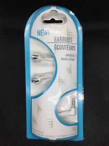 White Stereo Earbuds