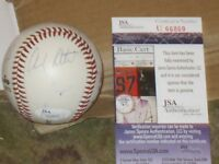 Andy Pettite Wade Boggs and Others Autographed Baseball JSA Certified