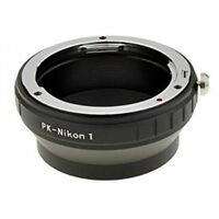 Pentax PK Lens to Nikon 1 Mount Camera Lens Adapter Ring