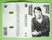 COPERTINA INLAY MC Musicassetta FABRIZIO DE ANDRE'La Buona Novella no cd lp dvd
