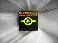 KOMURA 2X 7 ELEMENT NEW TELECONVERTER LENS M42 SCREW MOUNT FUJICA METER COUPLED