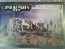 WARHAMMER 40K ASTRA MILITARUM CADIAN COMMAND SQUAD - NEW & SEALED