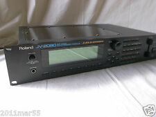 Roland JV-2080 64Voice Synthesizer Module new internal battery!! 100-240V