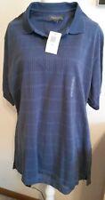 Van Heusen Mens L Blue Grey Shirt New With Tags