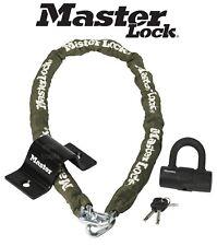MASTERLOCK 1.5m Long High Security Chain, Padlock & Wall/Floor Anchor, MLK8273E