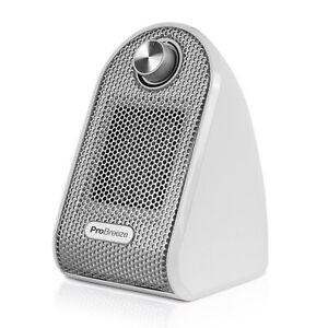 Pro Breeze® Mini Heater - Ceramic Fan Heater | For Desk, Table, Office, Bedroom