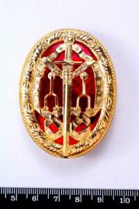 KB BRITISH ORDER TITLE OF KNIGHTHOOD KNIGHT BACHELORS BADGE 1933 PIN BACK TYPE