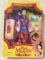 New Vintage, Matchmaker Magic, Disney's Mulan Doll, 1997 Mattel #18991 Boxed