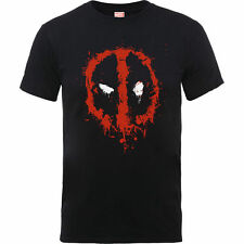 Marvel Cotton Patternless Short Sleeve T-Shirts for Men
