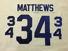 Toronto Maple Leafs Jersey Lettering Kit Any Name/Number