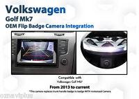 VW GOLF MK7 Composition Media Badge Flip OEM Grade backup Reverse camera kit