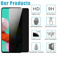 For Samsung Galaxy A20S A51 A71 4G Anti-Spy Privacy HD Glass Screen Protector