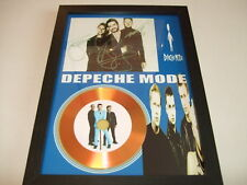 DEPECHE MODE   SIGNED GOLD CD  DISC  4