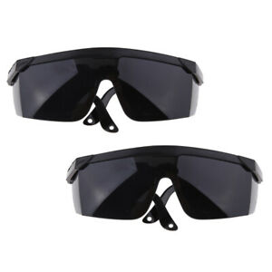 2Pcs Welding Glasses Safety Eye Labor Protective Glasses wide Lens Goggles