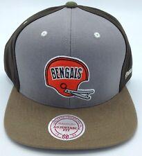 913f72f10 NFL Cincinnati Bengals Mitchell and Ness Retro Adult Adjustable Cap M N ...