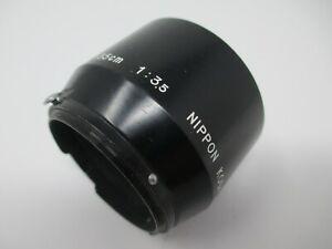 Nikon Nippon Kogaku 13.5cm f3.5 Hood Early S Lenses