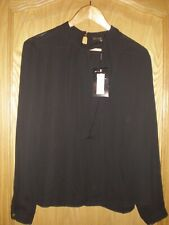 BIBA Black Blouse Top 16 BNWT