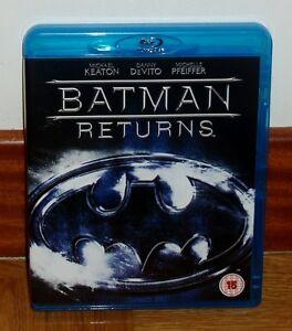 Batman - Returns Blu-Ray New Spanish Science Fiction Aventuras Action R2