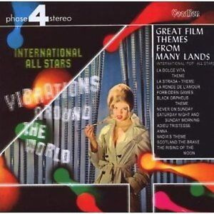 International Pop All Stars GREAT FILM THEMES FROM MANY LANDS & VIBRATIONS