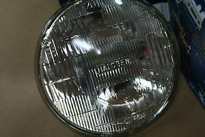 TRUCK BIKE HEADLAMPS GE 7 INCH HALOGEN CAR HI/LOW BEAN FORD CHEVY DODGE JEEP NIB