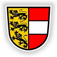 Karnten AUSTRIA coat of arms bumper sticker decal Aufkleber Wappen Osterreich