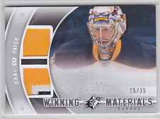 2011 11-12 SPx Winning Materials Patches #WMRM Ryan Miller 15/35