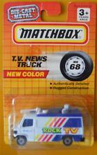 1993 Matchbox T.V News Truck MB 68 Rock TV Mobile 1 Die Cast Metal Toy Media Car