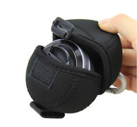 JJC Pancake Lens Case Bag Pouch for Olympus 14-42mm Panasonic 12-32mm 14-42mm