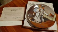 1983 Norman Rockwell Heritage Collection #7 The Painter Knowles Collector Plate