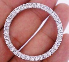 3.50 Ct Diamond Bezel for Rolex 41 mm President Daydate 2 & Date Just 2 Watch