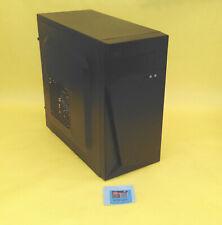 NEW Black Mini Tower Micro ATX w/ USB 2.0 Side Air Duct Empty Desktop PC Case