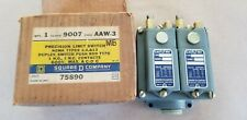 SQUARE D CLASS 9007 /  AAW-3  LIMIT SWITCH