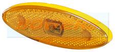 SIM 3158 12v/24v LED Ambra ovale arancio di direzione laterali Luci di Posizione Lampada gioco