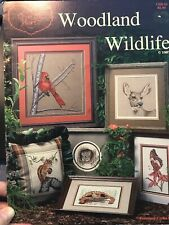 Cross My Heart Cross Stitch Book CSB-22 Woodland Wildlife 11 Patterns Animal