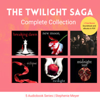 The Twilight Saga Complete Collection: 5 Audiobooks Unabridged (MP3)