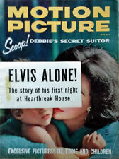 MOTION PICTURE MAGAZINE - LIZ TAYLOR, ELVIS PRESLEY ARTICLE - MAY. 1960