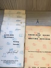 The How To Know Techniques Of Writing Success Henry Kowel Books 1-5