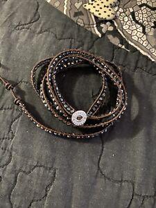 Victoria Emerson Crystal Wrap Bracelet