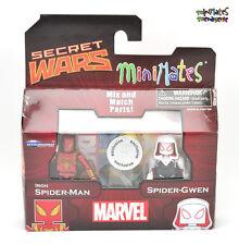 Marvel Minimates TRU Toys R Us Wave 21 Iron Spider-Man & Spider-Gwen