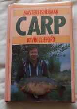 MASTER FISHERMAN CARP FISHING BOOK BY KEVIN CLIFFORD 1989 1ST EDITION