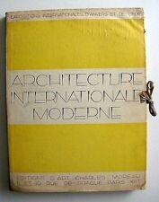 ARCHITECTURE INTERNATIONAL MODERNE Expo Belge 1930 48 Fotos.