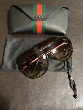 🌋Men's Gucci GG 1622/S 7919M Aviator Sunglasses Tortoise shell 💯% Authentic🌋