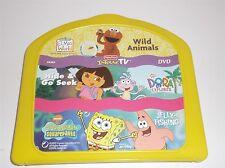 Fisher Price Elmo's World, Dora The Explorer & Spongebob Interac TV Dvd Game