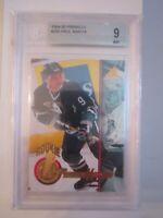1994-95 PAUL KARIYA #265 HOCKEY CARD BECKETT GRADED 9 MINT